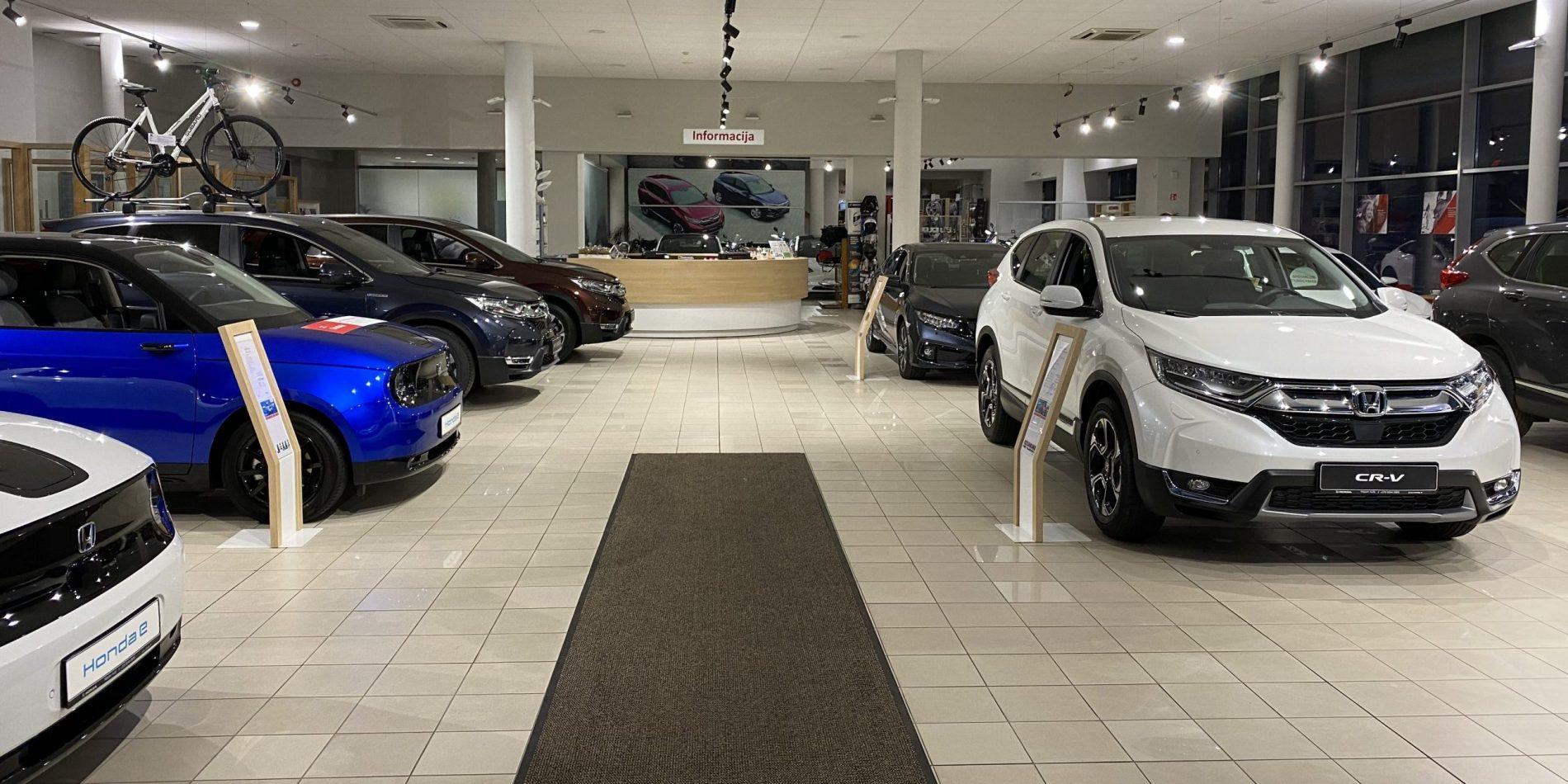 automobilių ir klasikinės prekybos sistemos)